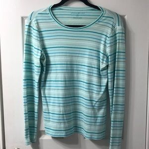 Eddie Bauer Long sleeve striped T-shirt